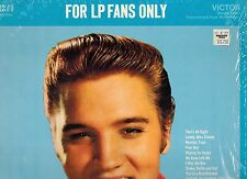 MFD IN CANADA NM LSP 1990 ROCK LP ELVIS PRESLEY : FOR LP FANS ONLY