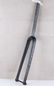 "Hylix 1 1/8-700c*48&27.5"" Disc Brake Carbon Gravel&CX Fork-100*12-Flat Mount"