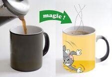 Tom and Jerry Cartoon Color Changing Magic Heat sensitive Tea Coffee Mug gift