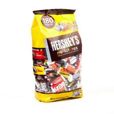 Hershey's Assorted Chocolate Miniatures (180s -  printed on the bag)