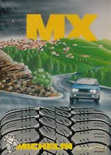 X3137 Pneumatici MICHELIN MX - Pubblicità d'epoca - 1984 vintage advertising