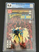 World's Finest Comics #286 cgc 9.0 Superman Batman Hawkman Green Arrow Zatanna