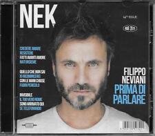 """NEK - CD CON AUTOGRAFO """" PRIMA DI PARLARE """""""