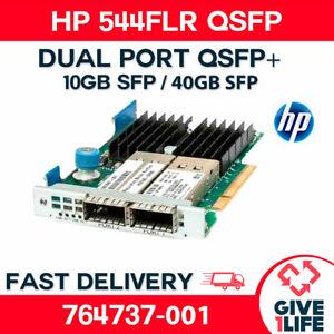 HP 544FLR QSFP+ Network Card 10/40GB Double port 764737-001 / 764618-001 SERVER