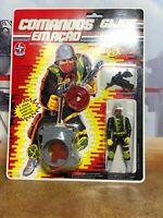 GI Joe Brazil MOSC Comandos em Acao Vibora Foreign Python Cobra Officer - Nice!