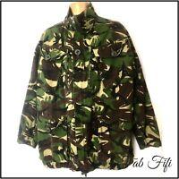Hunting Camouflage Mens NATO Field Jacket Woodland Union Jack Unisex Blogger