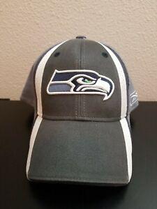 Seattle Seahawks 2nd Season Sideline Flex Fitted Hat Cap Men's size OSFM 2006