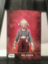 Rare Star Wars Maz Kanata Star Wars Force Awakens Topps Promo Card # 101 Set