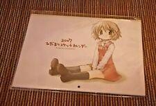 anime hidamari-sketch  calendar 2007