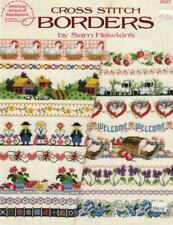 Cross Stitch BORDERS American School of Needlework Leaflet 3527 Sam Hawkins