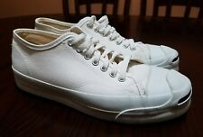 666bf23dfaba Vintage Converse Jack Purcell off-White Canvas Sneakers Shoes Size 9   USA  MADE