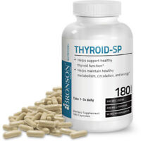 Bronson Thyroid Support Complex Supplement With Iodine, 180 Capsules