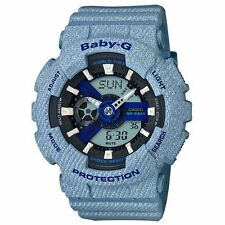 OFFICIAL Casio Baby-G DENIM'D COLOR BA-110DE-2A2JF / AIRMAIL with TRACKING
