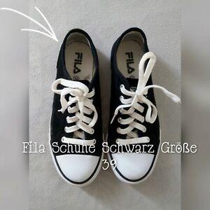 Fila Schuhe Schwarz Größe 39