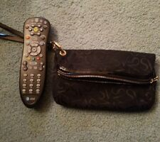 Vera Wang Women's Black Wristlet Wallet Purse