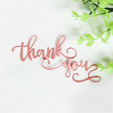 Brief greeting words thank you Metal Cutting Dies DIY Photo Album Craft HV