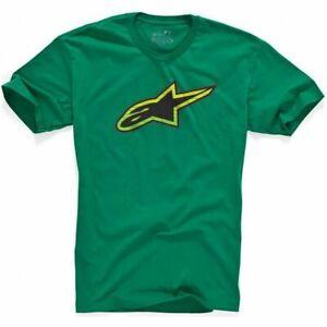 ALPINESTARS Spencer Classic Short Sleeve T-Shirt (Green) XL/X-Large