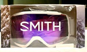 Smith Optics Women's Showcase OTG Ski Goggles Chroma Pop White Vapor Frame