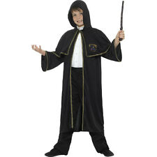 Childrens Wizard Fancy Dress Cloak Book Day Childs Harry Cape New by Smiffys