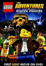 NEW DVD // LEGO:THE ADVENTURES OF CLUTCH POWERS// 82 min - Ryan McPartlin, Yvonn