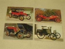 Vintage Car Service Reminder Postcards - Four (pkg#3)