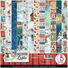 Ciao Bella Northern Nights 6x6 Double-Sided Paper Pack 24Pc, CBQ038