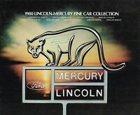 1980 LINCOLN-MERCURY Brochure:ZEPHYR,CONTINENTAL,Mark6,MARQUIS,COUGAR XR7,CAPRI