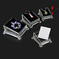 Acrylic Clear Jewelry Necklace Chain Pendant Earring Display Holder Stand Good