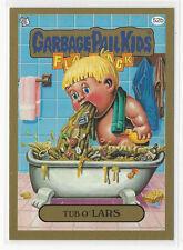 Tub O' Lars 2014 Topps GARBAGE PAIL KIDS Flashback Series 3 Gold Card #52b