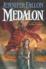 Medalon: Book 1 of the Hythrun Chronicles by Jennifer Fallon (2003, Hardcover)