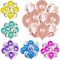 "12"" Lovely Confetti Latex Balloons Wedding Birthday Party Decoration 10pcs/Set"