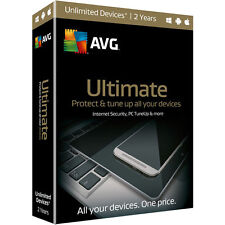 AVG Ultimate 2016 Dispositivi o PC Illimitati 1Anno Licenza Originale ESD