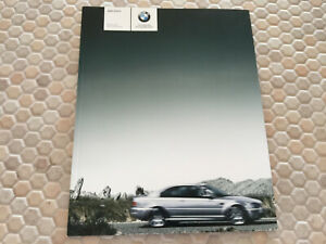 BMW M3 COUPE & M3 CONVERTIBLE PRESTIGE SALES BROCHURE 2006 USA EDITION