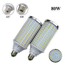 E27 E26 E40 LED Light Bulb 15W/20W/25W/30W/40W/60W/80W 5730SMD High Power Lamp
