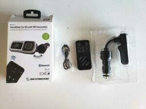 2 -Scosche BTFMSR-SP1 Bluetooth FM Transmitter handsfree w/ USB