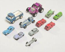 Lot of 11 Vintage Pressed Steel Tootsietoy Cars Trucks Unusual Vehicles