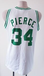 Boston Celtics basketball jersey NBA Champion shirt size XL #34 Pierce