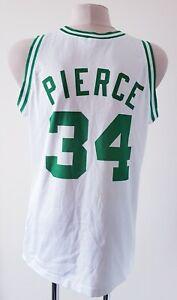 Boston Celtics basketball jersey NBA Champion shirt size XL #34 Pierce