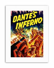 DANTES INFERNO DRAMA HELL FIRE CLASSIC TRACEY USA Poster Film Canvas art Prints