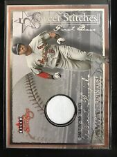 St. Louis Cardinals Albert Pujols 2004 Fleer St-Ap Sweet Stitches Jersey 34/170