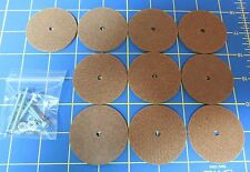 """For Jointed Teddy Bear = 10 – 2"""" Hard Board Discs – with Tap Bolt Set"""