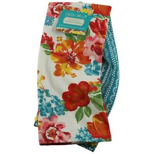 """The Pioneer Woman Wildflower Whimsy Kitchen Dish Towels 2 Pack 16"""" x 28"""""""