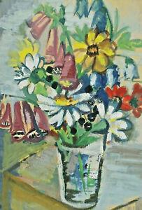 Signed J. Mayer - Flower Still Life
