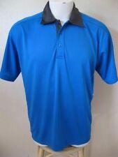 NEW Fila Tennis Polo Shirt M Blue Thomas Reynolds Limited Edition UV Protect $65