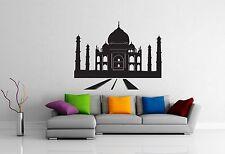 Wall Stickers Vinyl Decal Taj Mahal India Islam Mosque Mausoleum (ig1008)