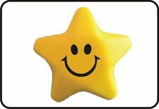 Squeezy Smiley Stress Star Stress Ball Party Bag Toys Emoji Emoticon 60mm 3D