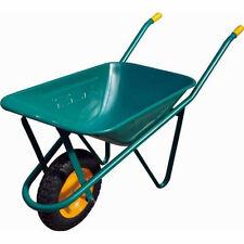 Carriola giardino lamiera verniciata stampata ruota pneumatica 70 litri 91788