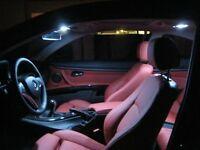 BMW X5 E70 LED Interior Lights Bulbs Kit - Xenon White