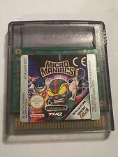 Original Nintendo Gameboy Color GBC Juego CARTUCHO solo Micro Maniacs