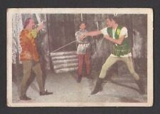 Ivanhoe Roger Moore 1958 TV Series Scarce Card Look! from Germany I